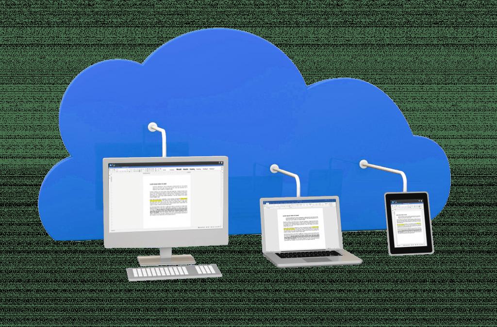 Partagez vos documents depuis un espace de stockage collaboratif
