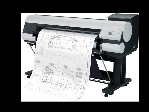 Location d'imprimantes Grand Format : traceur de plans A2, A1, A0 avec Koesio