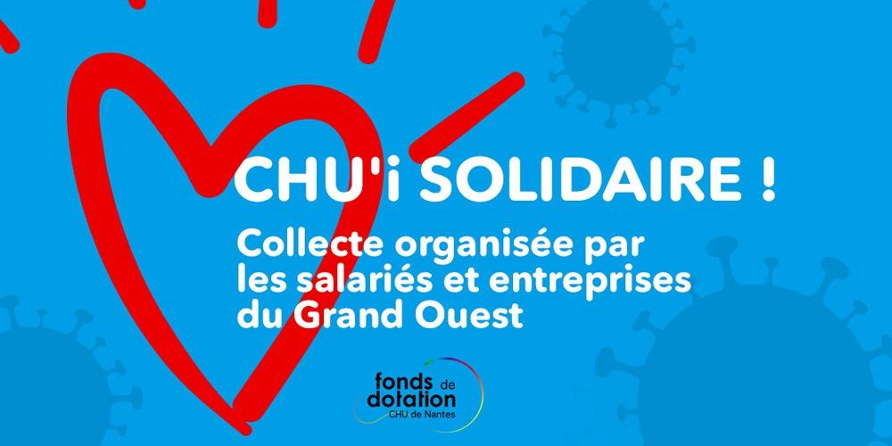 Oléap participe à la cagnotte CHU'i solidaire