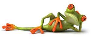 Logo Ecoprint, Grenouille, environnement