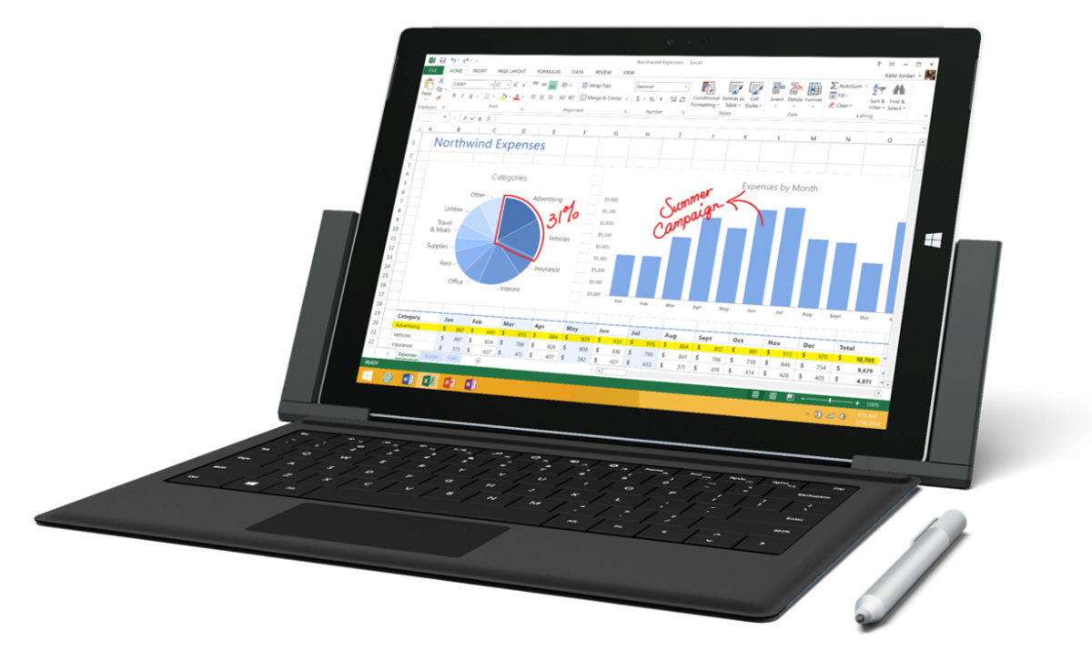 Offre Quadria : Microsoft Surface Pro 3
