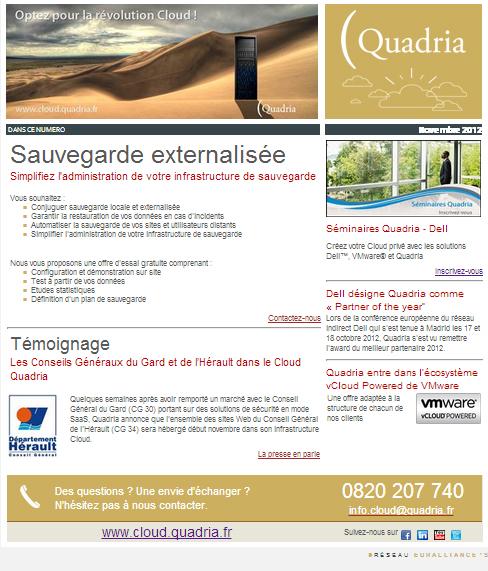 e-letter Quadria