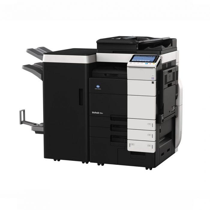 KONICA-MINOLTA+Photocopieur+A3+NB+BH 758