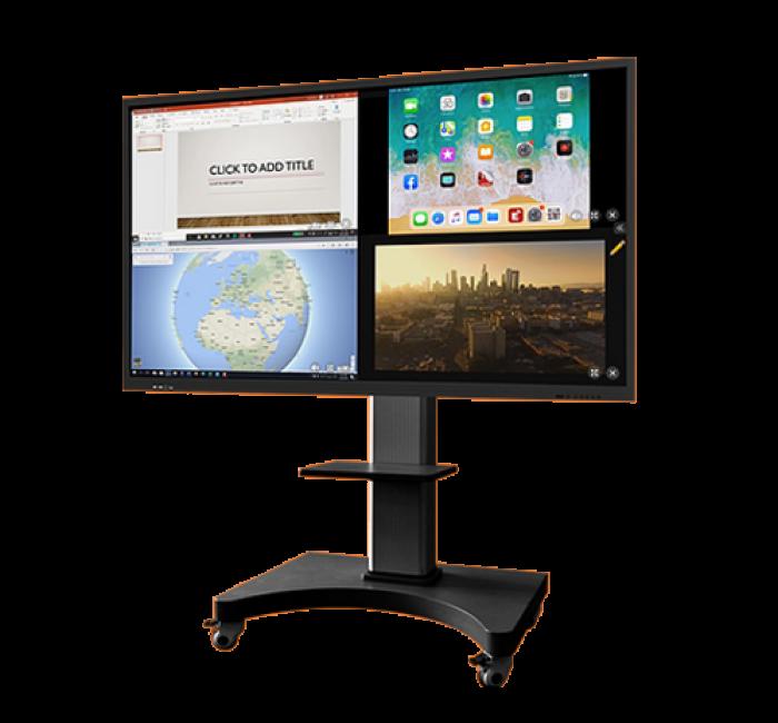 Simply Tab, écran tactile et interactif
