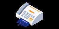 reception-fax